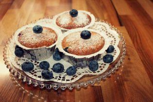 Heidelbeer-Kokos-Muffin