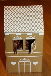 Verpackung Karamellisierte Nüsse
